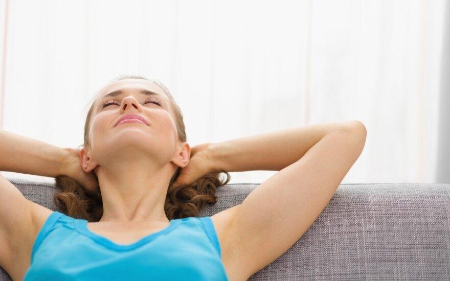 Kaip išlikti ramiems ir susikaupusiems?