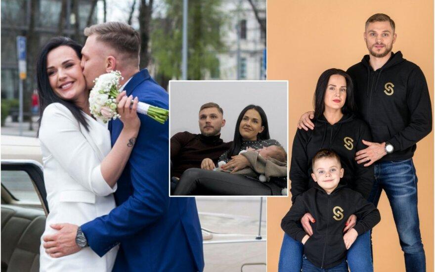 """S.Maslobojevas su šeima / Foto: Delfi, TV3, """"SvLines"""""""