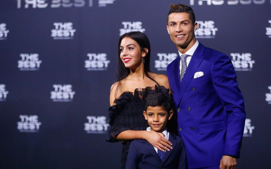 Georgina Rodriguez ir Cristiano Ronaldo
