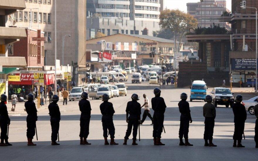 Zimbabvės policijos kolona