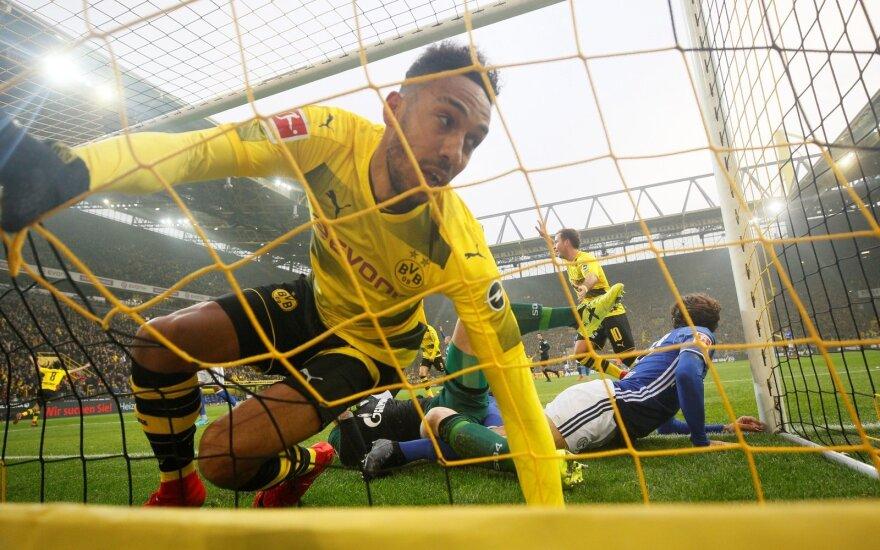 """Pierre-Emerickas Aubameyangas (""""Borussia"""")"""