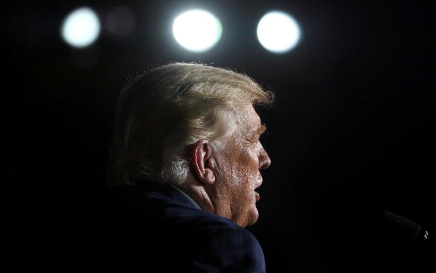 Donaldas Trumpas sugrįžo į rinkimų kampanijos sceną