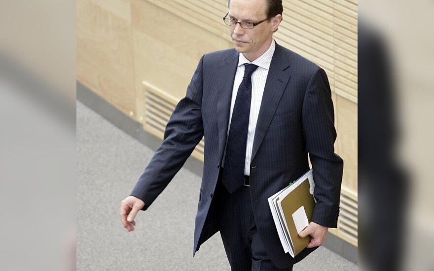 Būsimasis eurokomisaras A.Šemeta gaus 70 tūkst. litų mėnesio algą