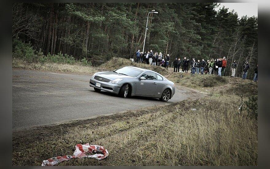 Sprinto ir slalomo čempionato pirmas etapas Nemuno žiede. L.Šilkaičio nuotr.