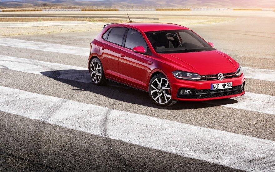 """Naujos kartos """"Volkswagen Polo GTI"""""""