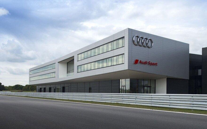 """""""Audi Sport"""" padalinyje dirba virš 300 žmonių"""