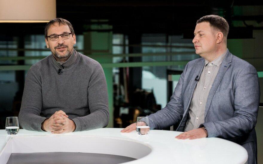 Liutauras Stoškus ir Vladimiras Adelšinas