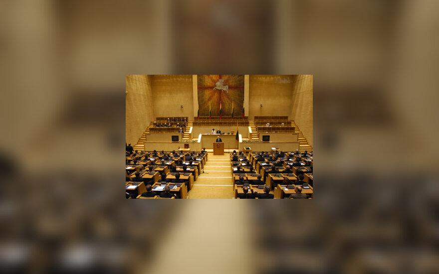 Seimas, parlamentas, pirmasis naujojo Seimo posėdis