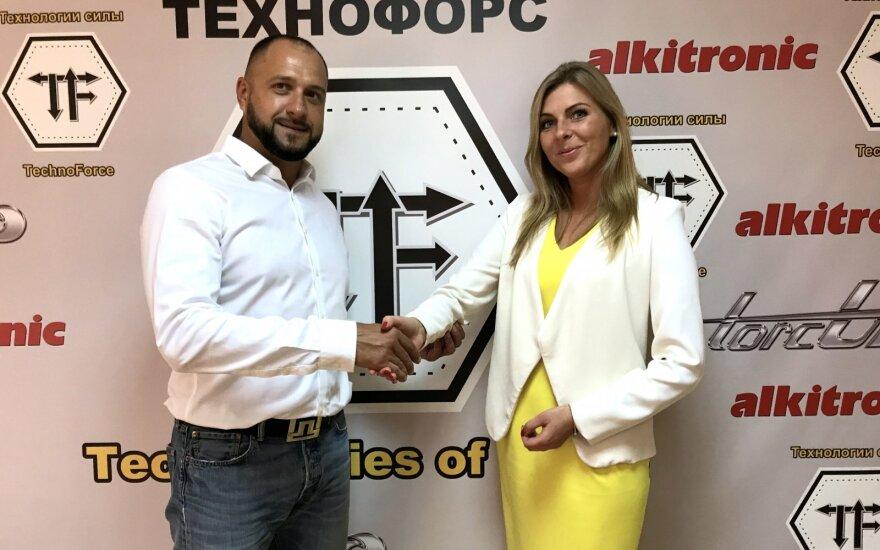 Igor Tsyapa Technoforce CEO, Gintarė Narkevičiūtė Nexus Operations CEO