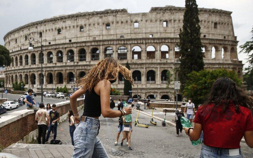 Papasakojo, kaip dabar atrodo apsilankymas Romoje: miestas vis dar yra sukrėstas ir po pandemijos atsigauna iš lėto