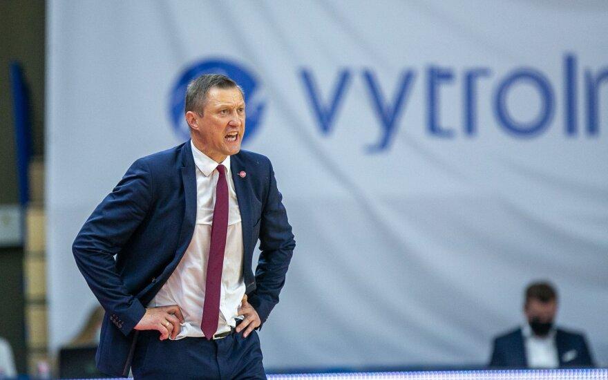 """Pasiruošimą FIBA """"Challenger"""" turnyrui pradėjo Urbono vadovaujami aštuoniolikmečiai"""