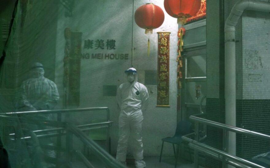Kinijoje aštrėjant viruso krizei atleisti du Hubėjaus provincijos aukšto rango pareigūnai