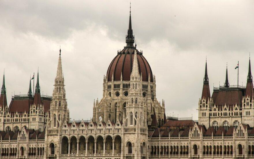 Vilniuje lankosi Vengrijos parlamento pirmininkas