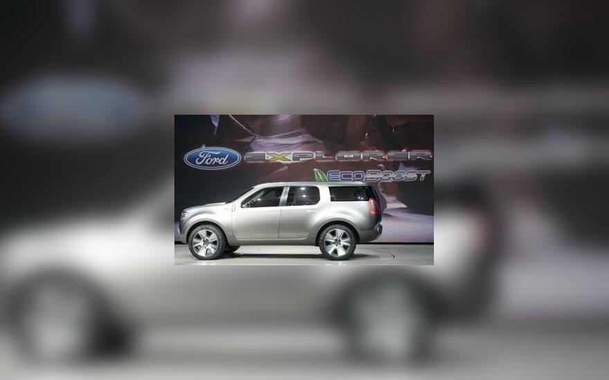 """Ford Explorer America"" konceptinis modelis"