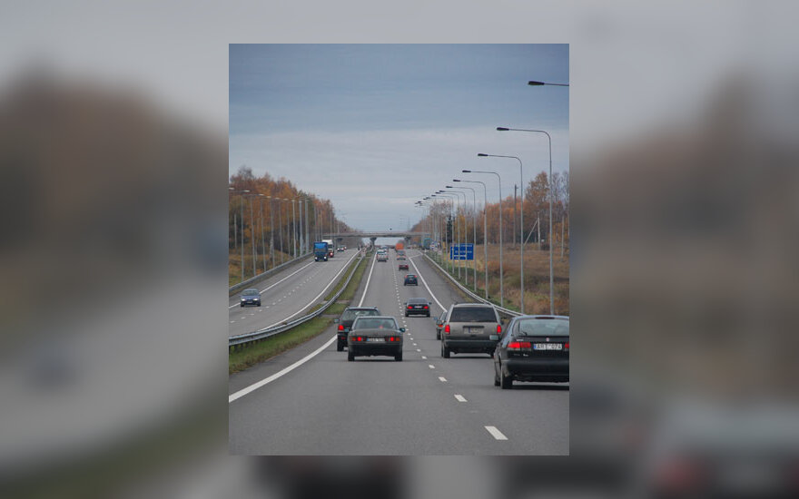Kelias, greitkelis, magistralė, transportas, automobiliai