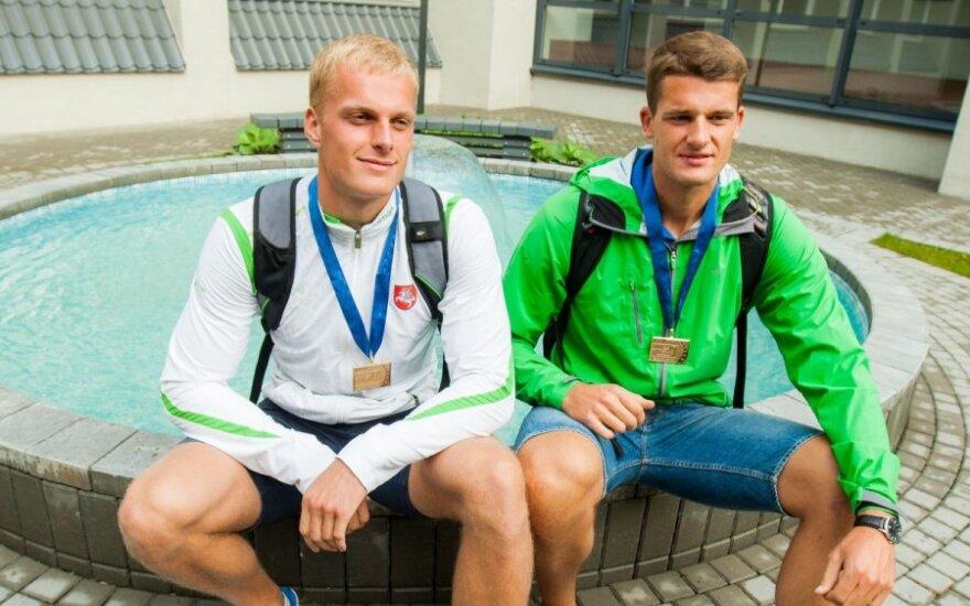 Rolandas Maščinskas ir Saulius Ritteris