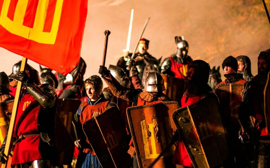 Lithuanian knights take top spots at medieval tournament in Kaunas