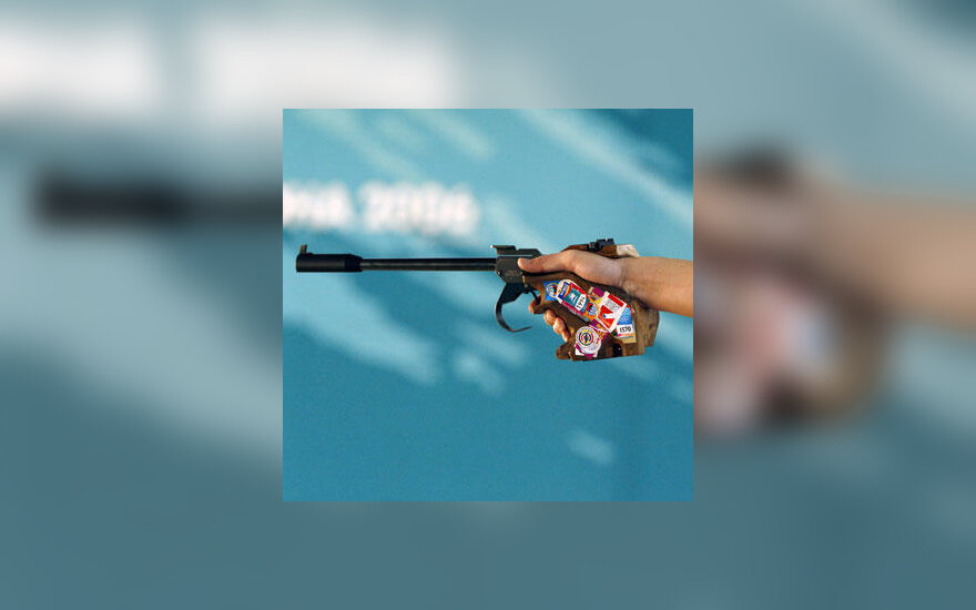 Sportinis šaudymas, pistoletas