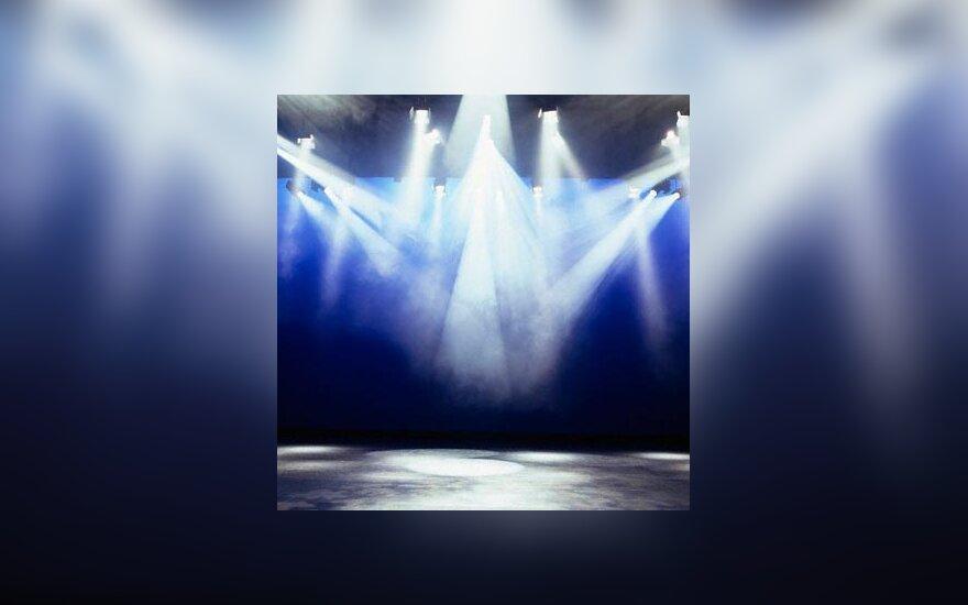 scena, koncertas, salė