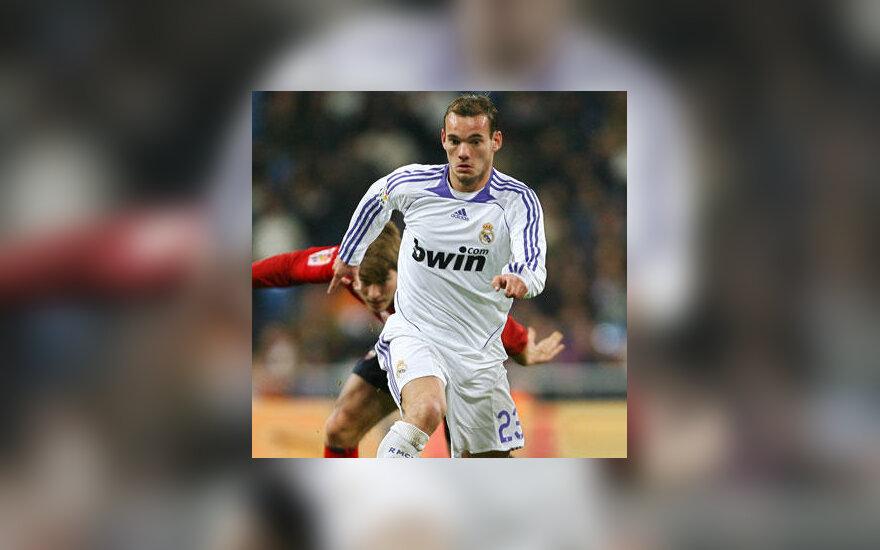 """Wesley Sneijderis (""""Real Madrid"""")"""