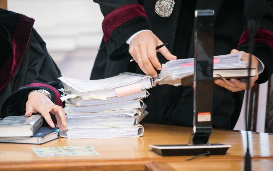 Lietuva prašo europarlamentarų pagalbos ginant teisėjus ir prokurorus nuo Rusijos