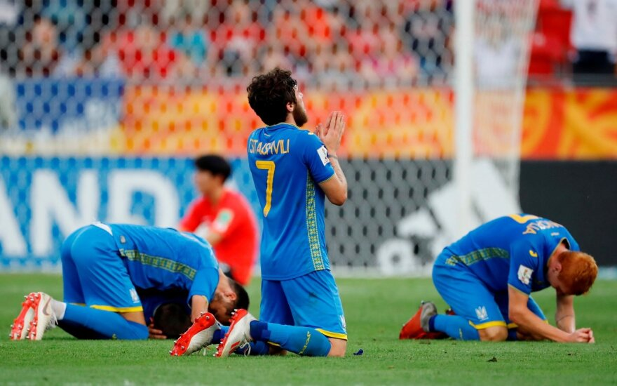 Pasaulio jaunimo čempionate – istorinis Ukrainos rinktinės triumfas