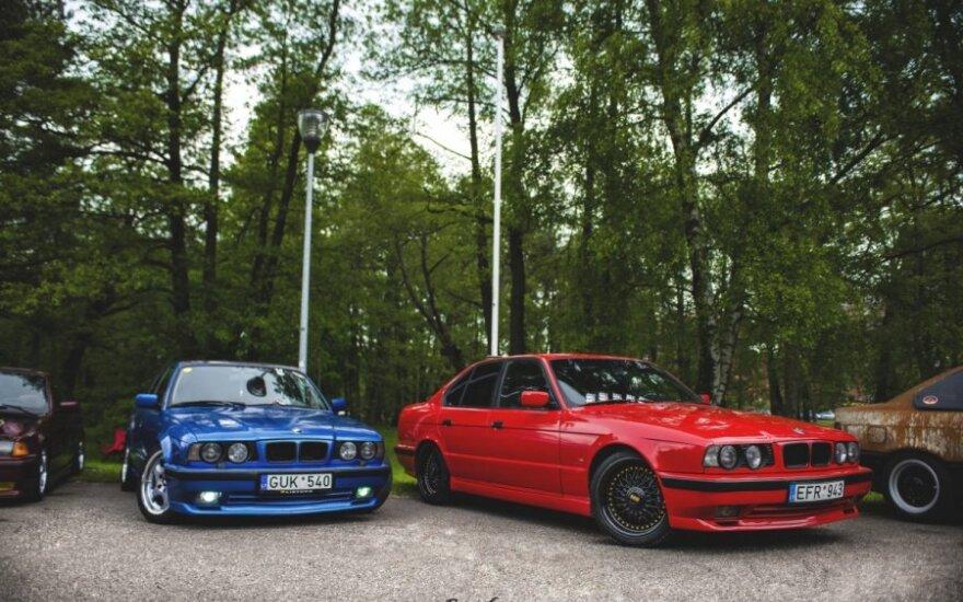 Automobilių renginys Klaipėdoje Memel motor fest' 15