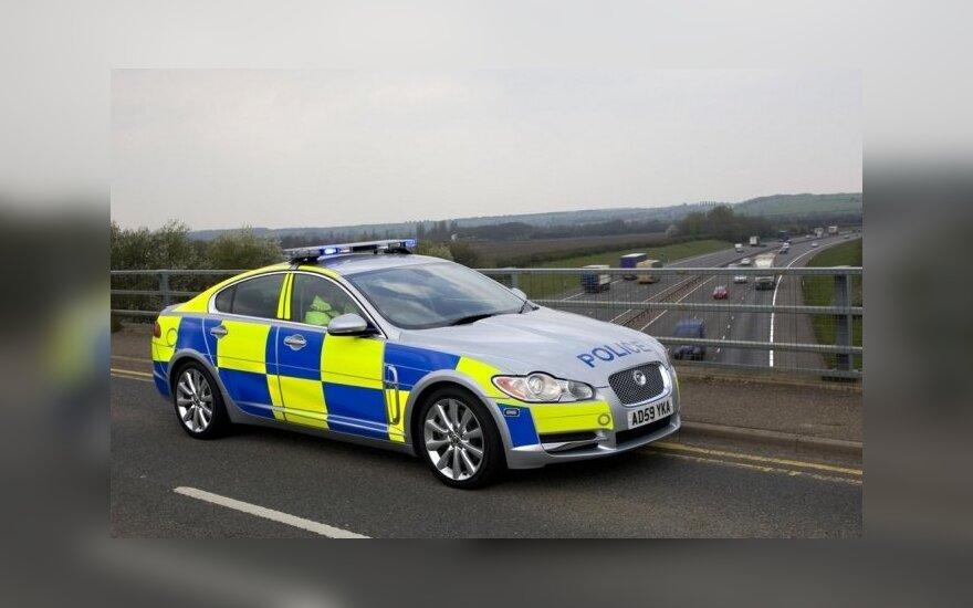 Britanijos policijos Jaguar XF