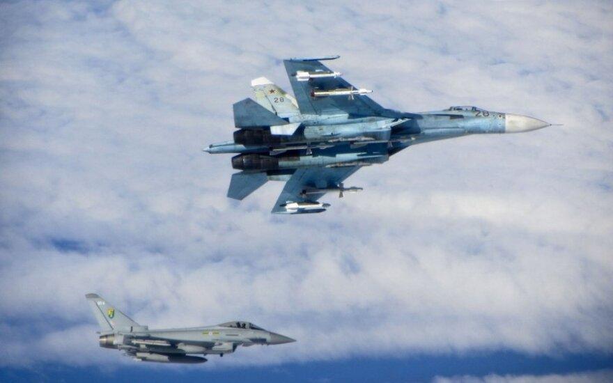 Rusijos kariniai lėktuvai pažeidė Švedijos oro erdvę