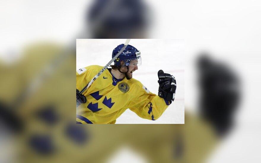 Švedijos ledo ritulio rinktinės žaidėjas Niklas Kronwallis