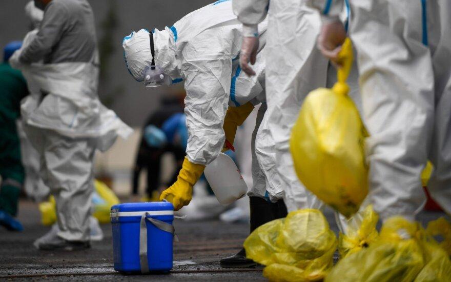 Nyderlanduose per parą užregistruota daugiau kaip 100 naujų užsikrėtimo koronavirusu atvejų