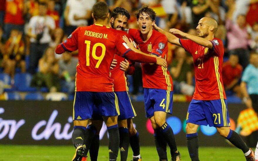 Ispanijos futbolininkų triumfas
