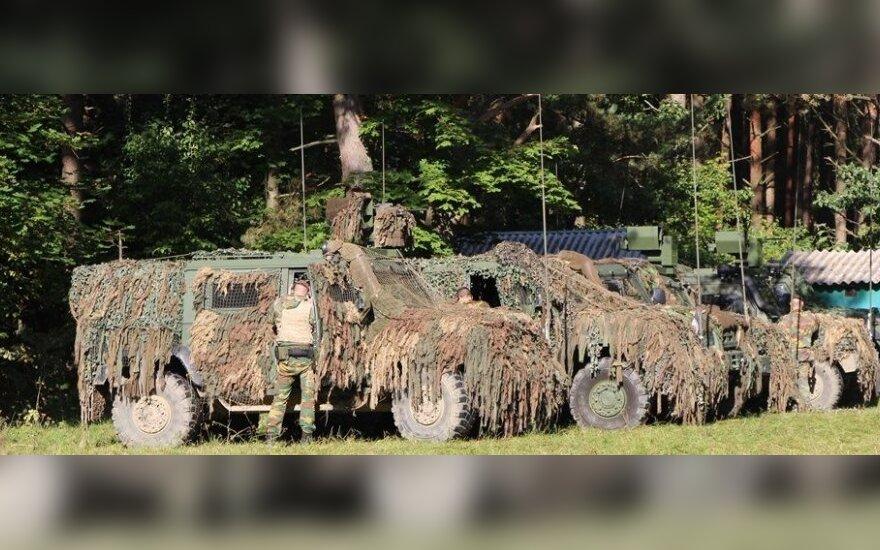 Lietuvos keliais judės apie tūkstantis įvairios karinės technikos