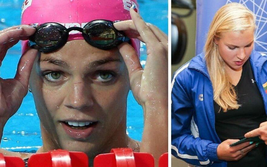 R. Meilutytei aukso medalio taip ir negrąžinusi J. Jefimova patyrė traumą ir praleis Europos čempionatą