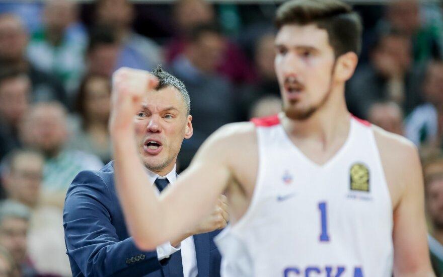 Šarūnas Jasikevičius ir Nando de Colo