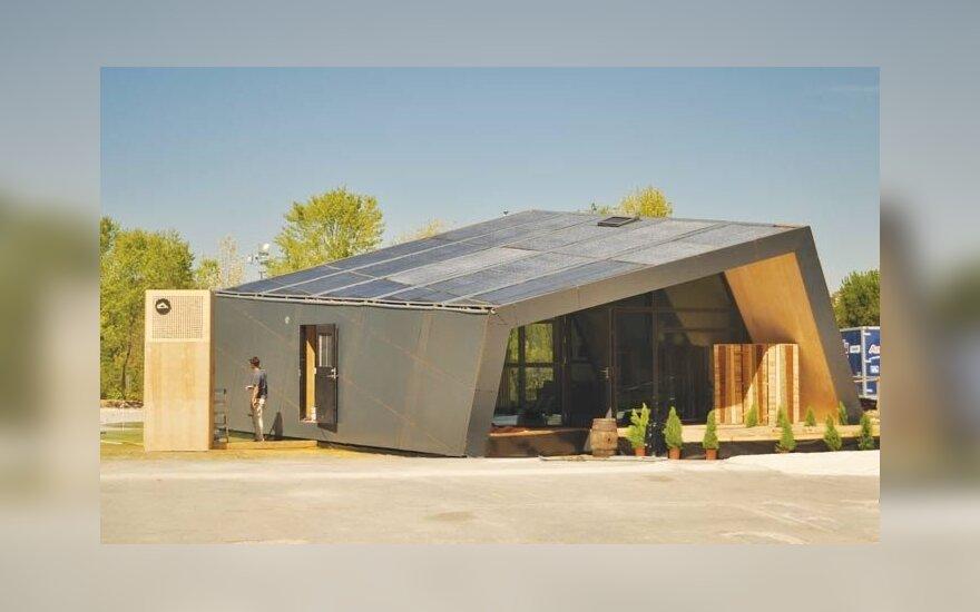 Individualiojo namo koncepciją Fold