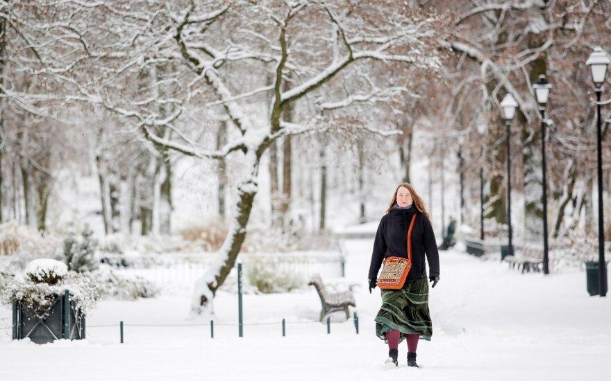 Sinoptikė: į Lietuvą atkeliavo žiema