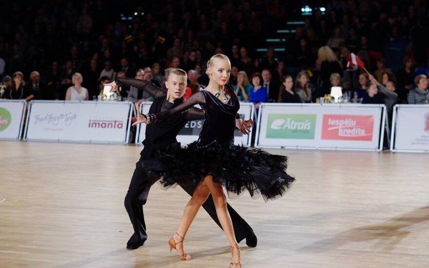 Karolis Burneikis ir Izabelė Šekaitė