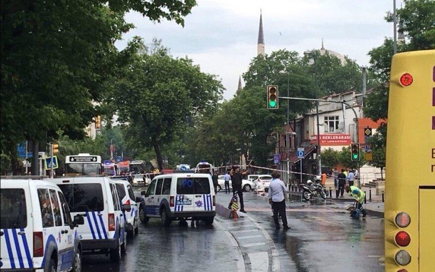 Tarp kaltinamųjų dėl teroro akto Stambule — 11 Rusijos piliečių