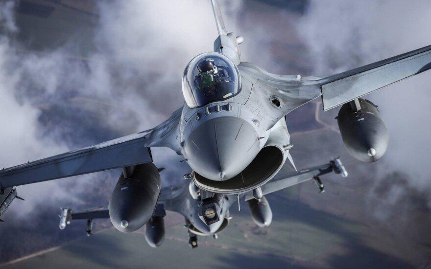 Nauja NATO naikintuvų misija Lietuvoje: kovos taisyklės keisis iš esmės