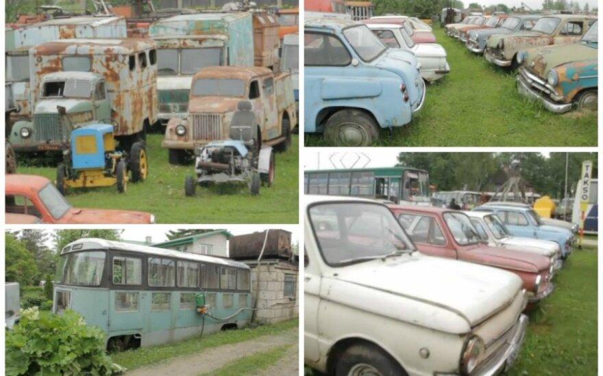 Senų automobilių muziejus Estijoje