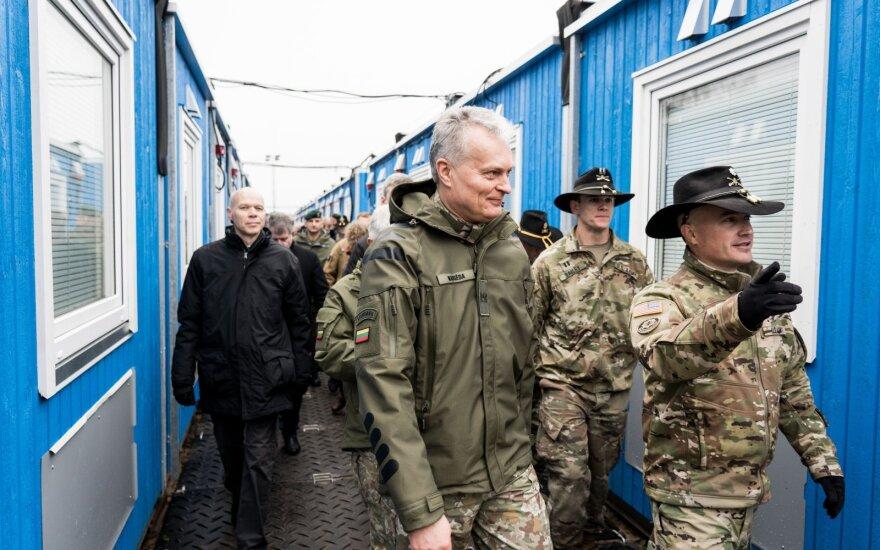 Nauseda seeks NATO solidarity over Russia amid tensions