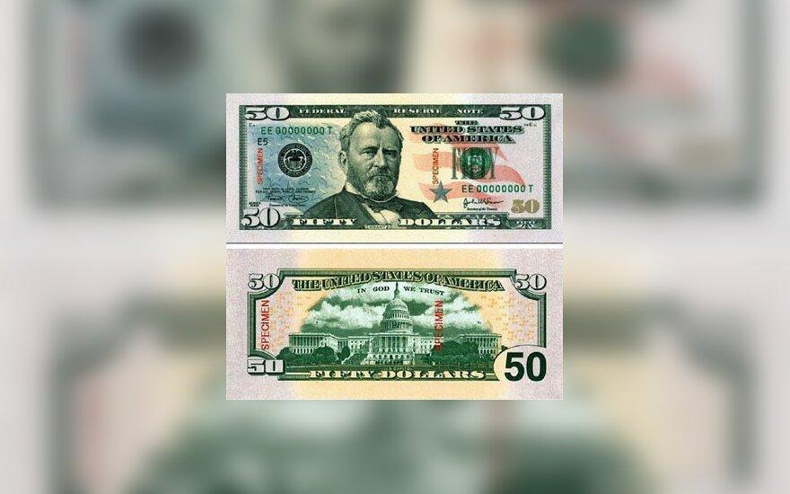 Nauja 50 JAV dolerių kupiūra