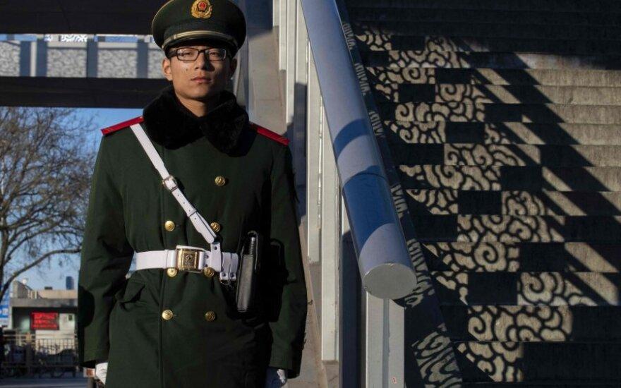 Kinijos policijos pareigūnas
