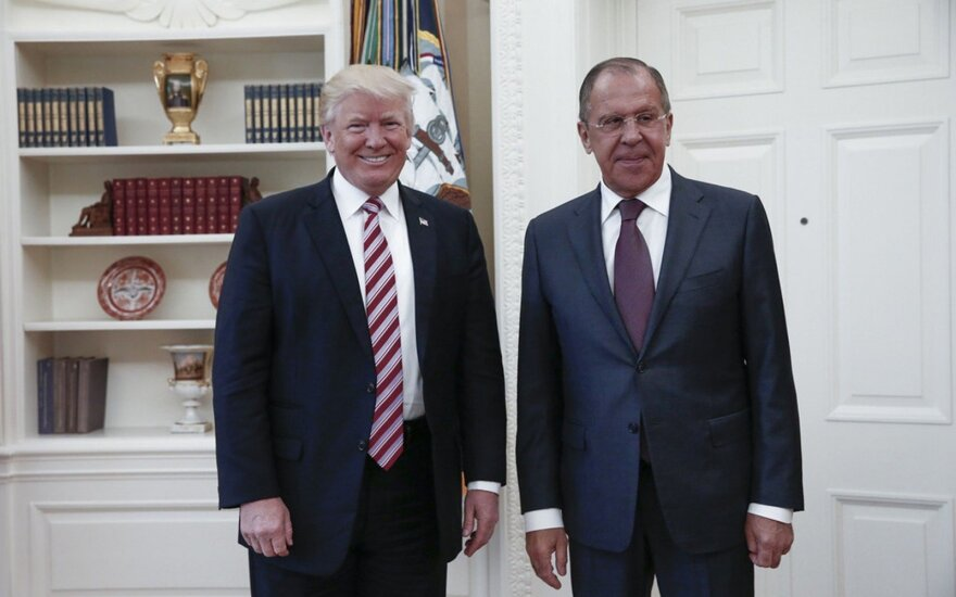 S. Lavrovas: Ukrainos vyriausybė nebūtų tokia priešiška Rusijos atžvilgiu, jei Maskva iš tiesų būtų pajėgi daryti įtaką rinkimams