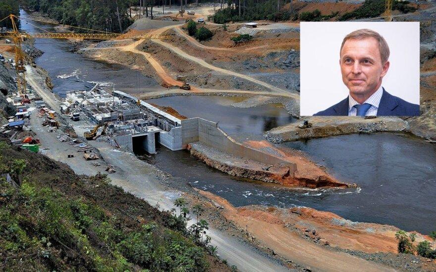 Žiniasklaida: žinomam Lietuvos sportininkui pelną krauna paslaptingos hidroelektrinės statybos Afrikoje