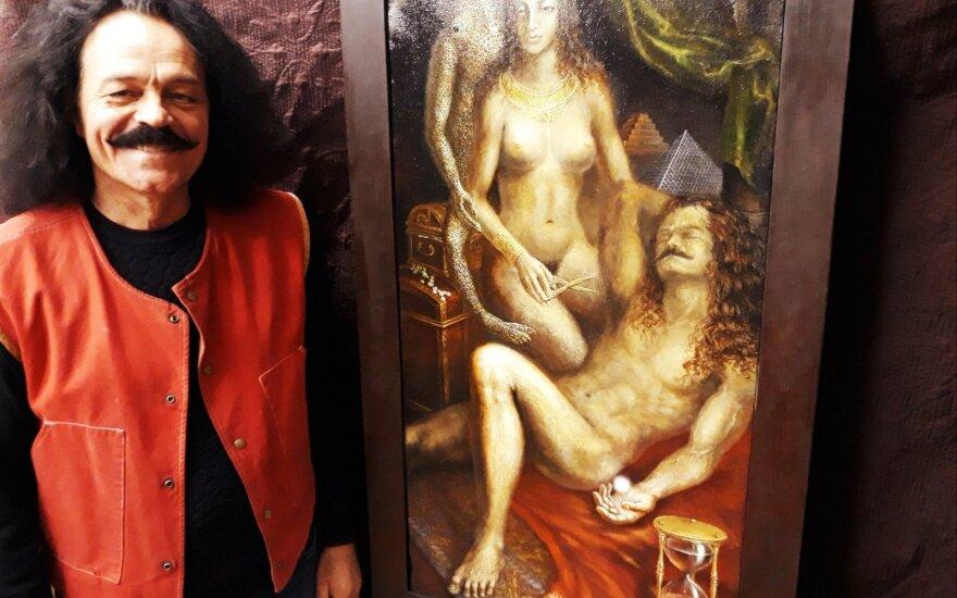 Dailininkas švenčių proga visus kviečia į tapybos magija dvelkiančią studiją