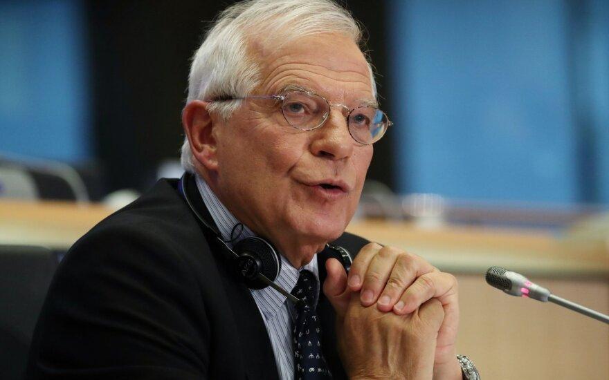 Josepo Borrellio klausymai EP
