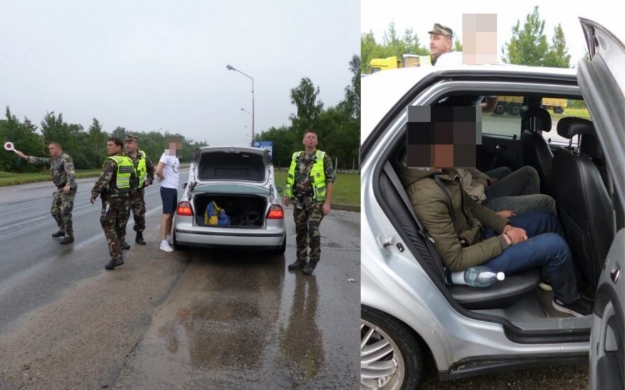 Latvian citizen detained in Lithuania for transporting illegals from Vietnam