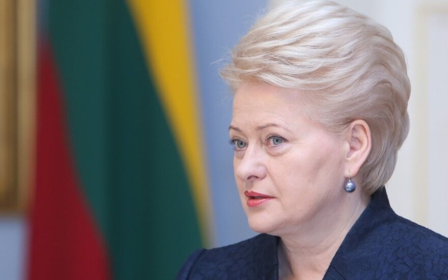 Borderline districts will benefit from increase in Russian shoppers, says Lithuanian president